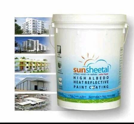 Sunsheetal High Albedo Heat Reflective Paint Coating Packaging Size 15 L Rs 495 Kilogram