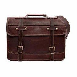 Vintage Leather Briefcase Satchel Messenger Bag