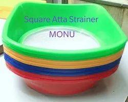 Plastic Net Flour Strainer