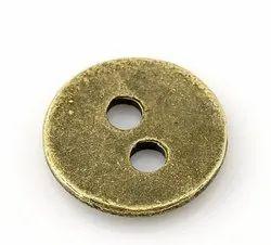 Alloy Metal Shirt Button