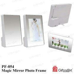 Plastic Magic Mirror Photo Frame, For Gift, Packaging Type: Box Packing