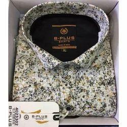 B Plus Cotton Men Designer Shirt