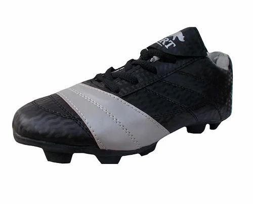 d609c2a4e3d940 Port Black Football Shoes