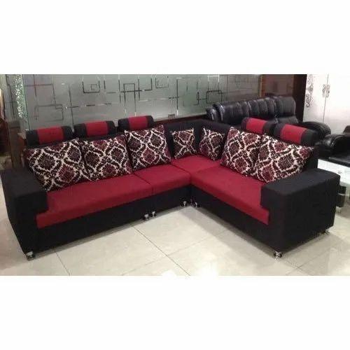 Furniture Cotton L Shape Modern Sofa