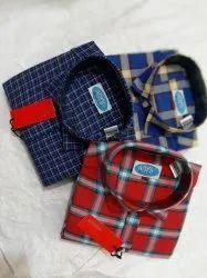 Men's Casual Check Shirt