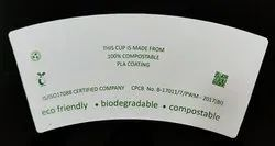 PLA Coated Paper Cup Blank