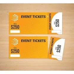 Card Paper Event Tickets, in Delhi