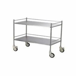 VMES  INSTRUMENT TROLLEY (TWO SHELVES)