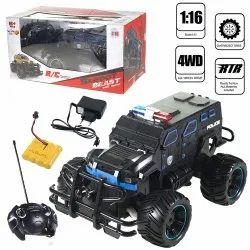 Multicolor Barodian's Rechargeable 1:16 Scale Blue High Speed 4 Wheel Remote Control Beast