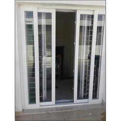 Sliding Netlon French Door