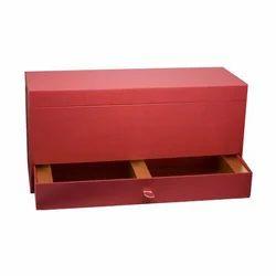 Cardboard Red Corporate Gifting Box