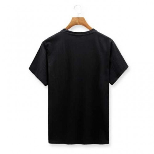 a1b52f4f7577 Polyester Round Neck Black Dry Fit T Shirt