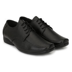 Men Black Office Shoes, Size: 6-10
