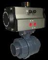 Pneumatic Actuator Operated Ball Valves
