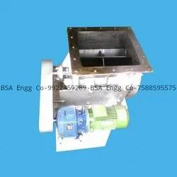 Square Rotary Feeder Air Lock Valve