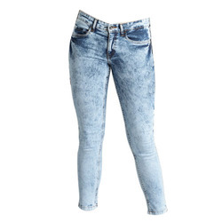 JIMMY JACKSON Indigo Women Washed Blue Jeans Pants