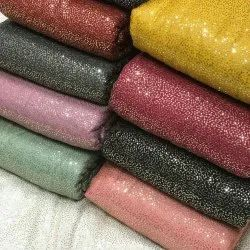 40 Polyster Georget Sequence Georgette Fabrics, For Garments, GSM: 100-150