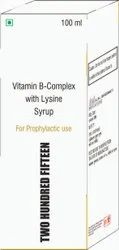 Vit B Complex With Lysine Syrup