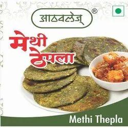Salted Gujarati Methi Thepla, 200 G, Packaging Type: Packet