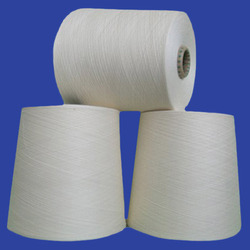 Polyester Cotton Blended Yarn - Raw White