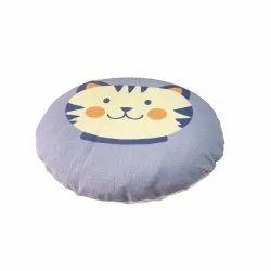 Round mustard seed pillow