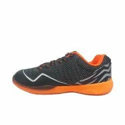 LI-NING Cloud Ace II Black/Orange Professional Non Marking Shoes