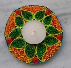 Quilling Hand Made Paper Diya