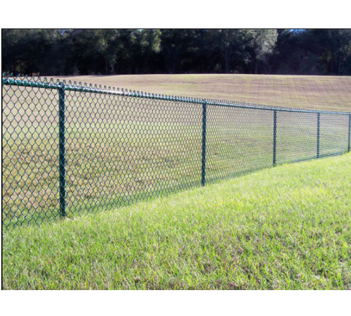 Galvanized Iron Gi Chain Link Fencing Gurukrupa Wire