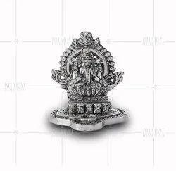 Silver Plated Small Saraswati Idols