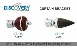 Apple & Gun Curtain Bracket