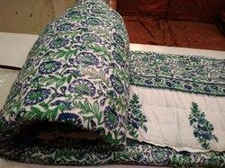 Fancy Cotton Printed Double Bed Razai
