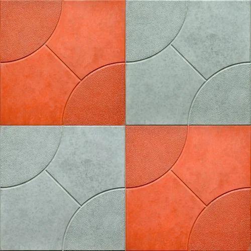 Orange, Silver Car Parking Tile, Size: Medium, Rs 38