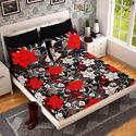 Flower Print Bed Sheet