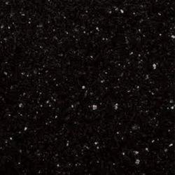 Black Galaxy Granite Slab, Thickness: 17-18 mm