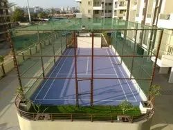 Badminton Court Development Service, Thickness: 12-25 mm