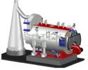 High Efficiency Oil & Gas Fired Steam Boiler
