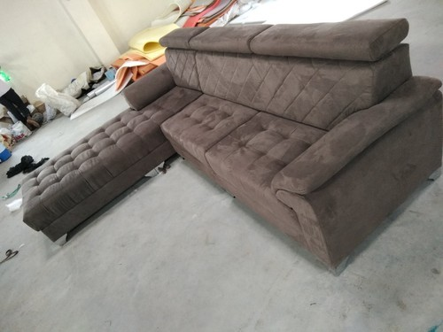 DS Pinewood L Shape Sofa With Lounger