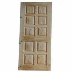 Doors World 78x36 Inch Designer Pinewood Door, For Home, Hotel & Office