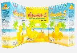 Energy Powder With Orange, Mango, Lemon Flavour Zinc, Pack Size: 105gm 210gm