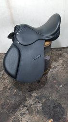 Jumping Buffalo Leather Horse Saddle, Number Of Horse Paddle: Nies011