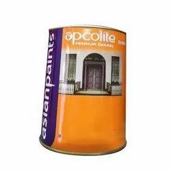 Wood, Metal Brown Asian Paints Apcolite Premium Enamel Paint, Packaging Type: Can