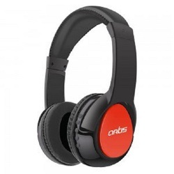 47926c933e8 Artis Black and Red Wireless Bluetooth Headphone With Mic