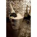 Stainless Steel Metal Champagne Bucket Wine Cooler
