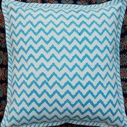Zigzag Print Cushion Cover