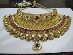 Festive Wear And Party Wear 22K Gold Necklace Set