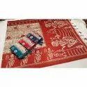 Floral Print Handloom Silk Saree