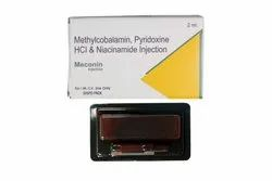Meconin Methylcobalamin, Pyridoxine HCl & Niacinamide Injection, 2ml