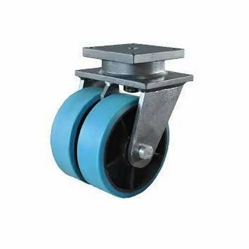 Nylon Trolley Caster Wheel, Load Capacity: 0-100 Kg