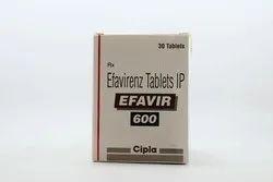 Efavir 600mg  tab efavirenz