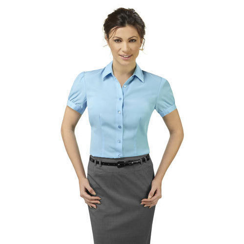 Cotton Womens Corporate Shirt 739a74b96